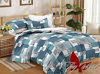 Комплект постельного белья сатин 200х220 TAG S306