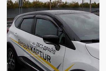 Ветровики (4шт, SIM) Renault Captur 2013↗ гг.