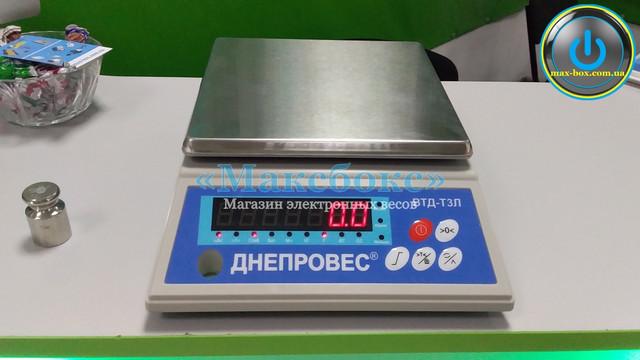 Весы фасовочные порционные ВТД - Т3Л Днепровес