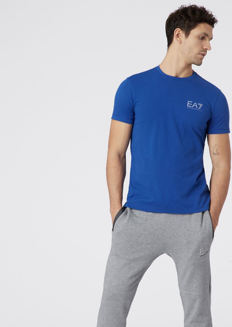 Футболка Emporio Armani EA7 Stretch cotton T-shirt оригинал