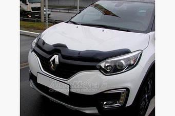 Дефлектор капота (SIM) Renault Captur 2013↗ гг.