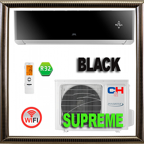 Серия Supreme BLACK Inverter серия   Cooper&Hunter кондиционеры