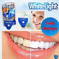 Отбеливатель зубов White Light, Набор для Отбеливания Зубов в Домашних Условиях Средство Капа Источник Света
