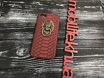 Чехол iPhone 7,8 Лев красный