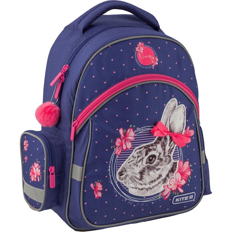Рюкзак школьный Kite Education 521 Fluffy bunny K19-521S ранец  рюкзак школьный hfytw ranec