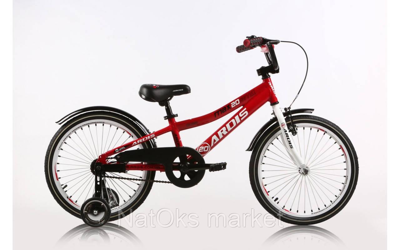 """Велосипед Ardis 20"""" BMX AL """"MAX"""" Красный"""