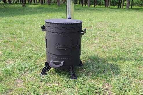 """Печка под казан """"Казбек-2"""" (17л, 22л, 30л), фото 2"""