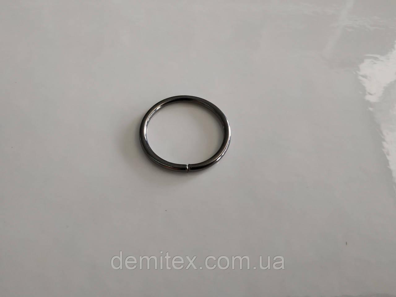 Кольцо черный никель 20х2мм