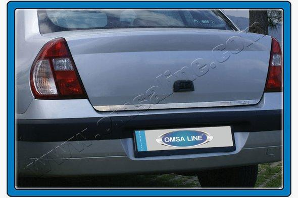 Кромка багажника (Sedan, нерж.) Renault Clio и Symbol 1999-2006 гг.