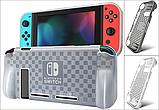 Силіконовий оригінал чохол MIMD з ручками для Nintendo Switch / Скла / Плівки /, фото 2