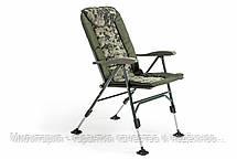 Кресло карповое Mivardi усиненное до 160 кг Chair CamoCODE Чехия (Quattro M-CHCCQ), фото 3