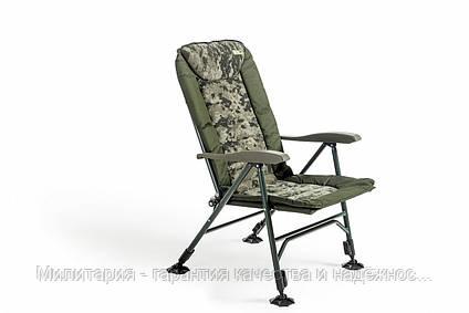 Кресло карповое Mivardi усиненное до 160 кг Chair CamoCODE Чехия (Quattro M-CHCCQ), фото 2