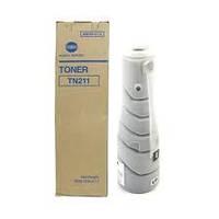 Тонер Konica Minolta TN-211, toner для bizhub 250, 222, 282 (17 000 страниц, А4 @5%).