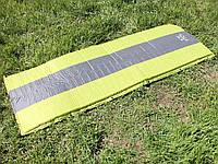 Матрас туристический само-надувной с ПВХ-покрытием 195*65*3 см