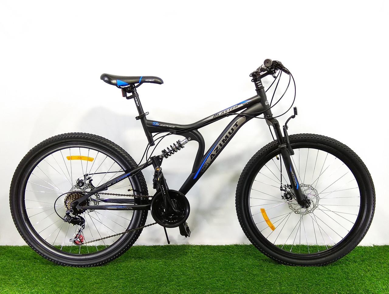Горный велосипед Azimut Blaster 26 D+