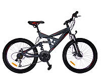Горный велосипед Azimut Shock 24 D+, фото 1
