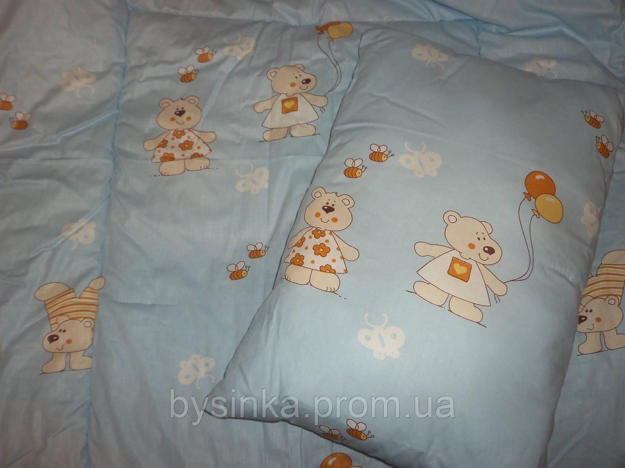 Набор детский (одеяло и подушка)