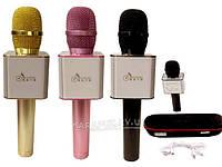 Микрофон-караоке беспроводной Bluetooth MicGeek Q9 Karaoke с чехлом, фото 1