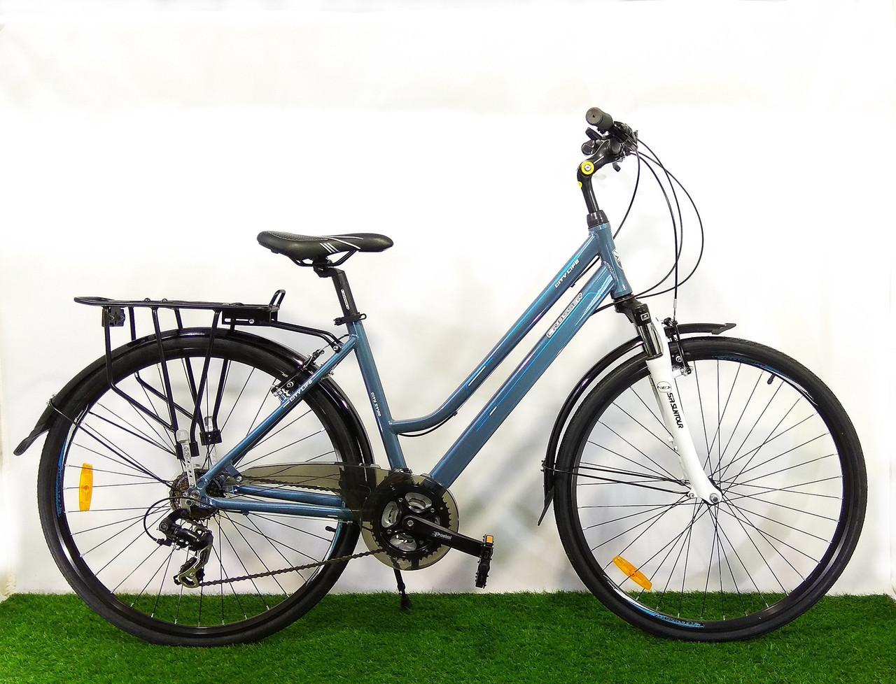 """Городской велосипед для девушек Crosser City Life Lady 28"""""""