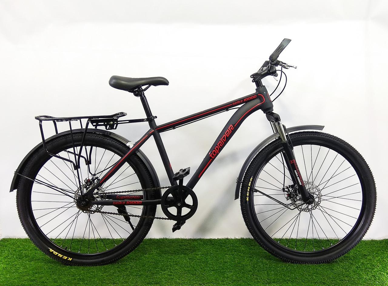 """Горный велосипед TopRider 700 26"""" (Одна скорость)"""