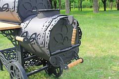 """Коптильня горячего и холодного копчения, смокер """"Шервуд"""" 3-6 мм, фото 3"""