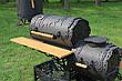 """Коптильня горячего и холодного копчения, смокер """"Шервуд"""" 3-6 мм, фото 2"""