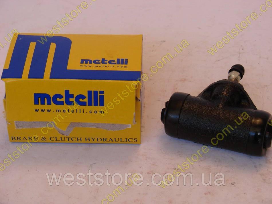 Цилиндр тормозной задний рабочий  ваз 2108 2109 2110 2111 2112 Metelli Италия