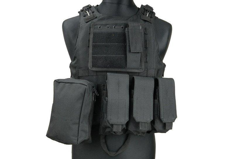 Жилет тактический (разгрузочный) типа AAV FSBE - black [GFC Tactical] (для страйкбола)