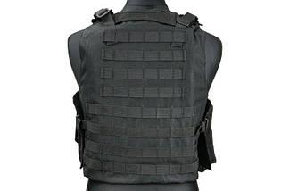 Жилет тактический (разгрузочный) типа AAV FSBE - black [GFC Tactical] (для страйкбола), фото 3