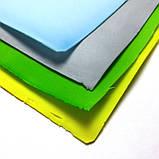 Фоамиран зефірний ГІРЧИЧНО-ЖОВТИЙ, 50x50 см, 1 мм, Китай, фото 2