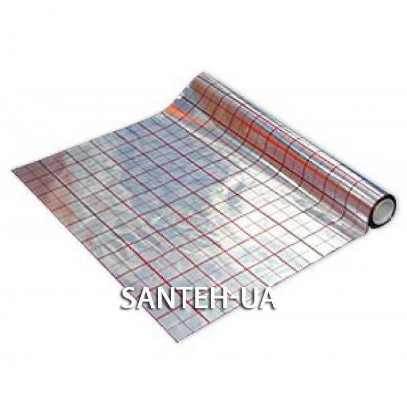Пленка для теплого пола фольгированная 50м (25мк)
