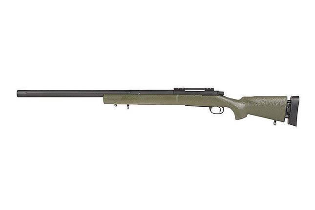 Страйкбольная винтовка снайперская SW-04JG - olive [Snow Wolf] (для страйкбола), фото 2