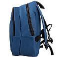 Рюкзак міський DNK LEATHER 16л, синій, фото 7