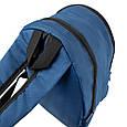 Рюкзак міський DNK LEATHER 16л, синій, фото 8