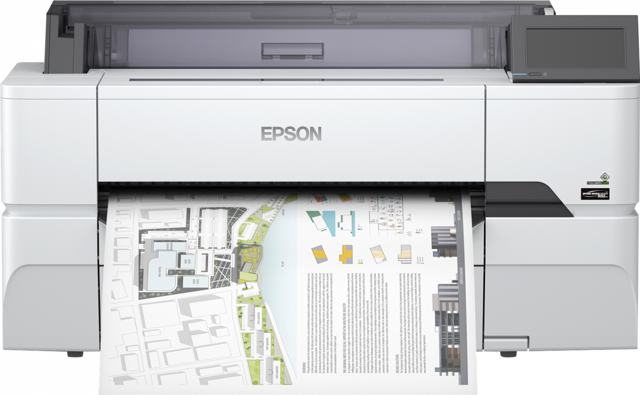 "Плоттер Epson SureColor SC-T3400N (без стенда) 24"" (А1+)"