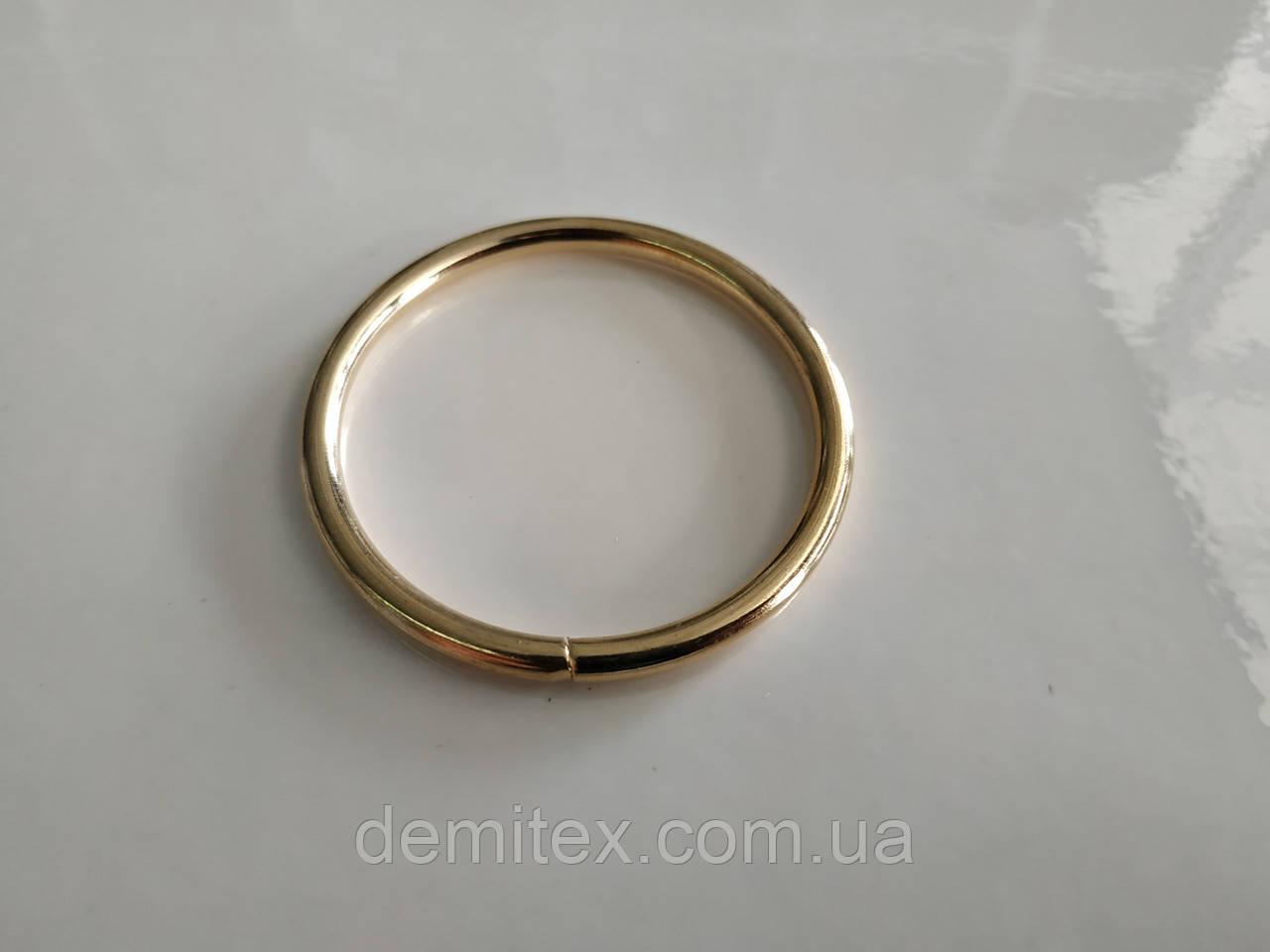Кольцо золото 40х3.5мм