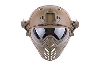 Реплика шлема FAST PJ Piloteer - Tan [Ultimate Tactical] (для страйкбола), фото 2
