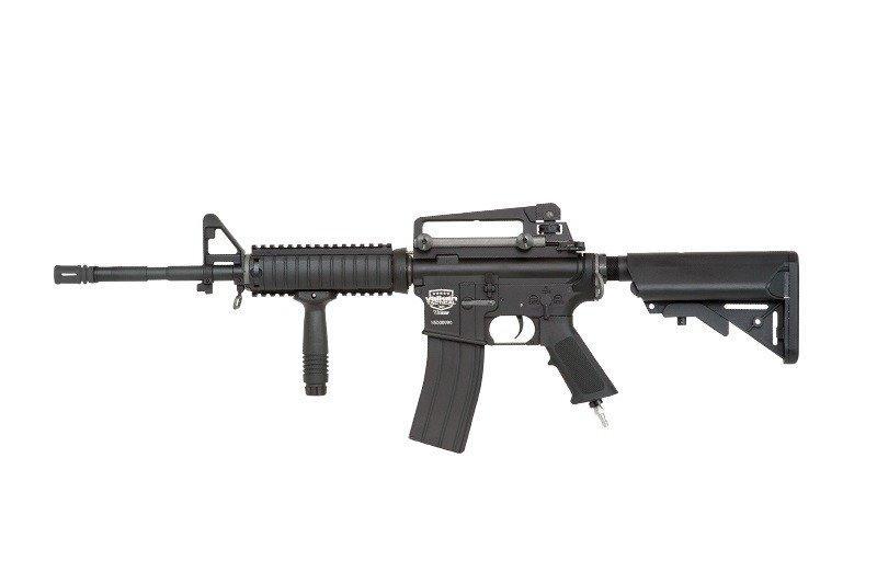 Реплика штурмовой винтовки ВВД (HPA) V12 Ultra SOPMOD - black [Valken] (для страйкбола)