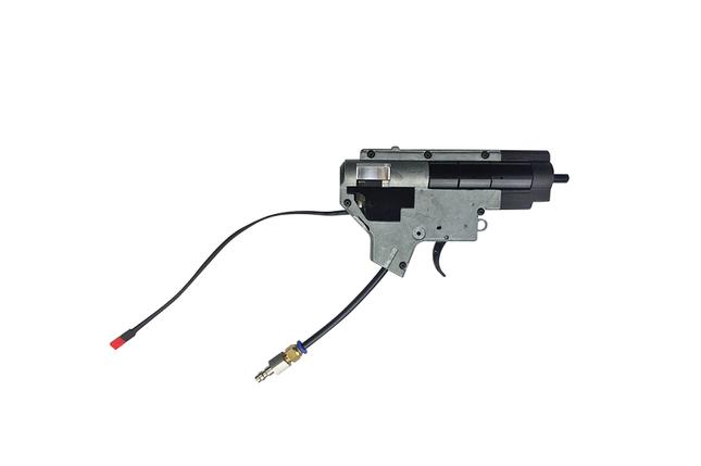 Реплика штурмовой винтовки ВВД (HPA) V12 Ultra SOPMOD - black [Valken] (для страйкбола), фото 2