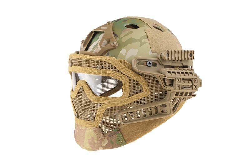 Реплика шлема FAST Gunner (PJ) - MC [Ultimate Tactical] (для страйкбола)
