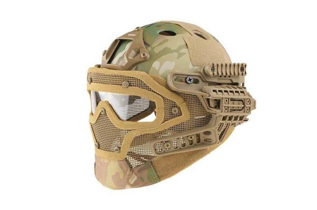 Реплика шлема FAST Gunner (PJ) - MC [Ultimate Tactical] (для страйкбола), фото 2