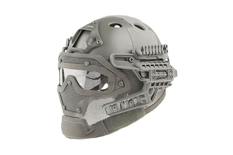 Реплика шлема FAST Gunner (PJ) - Gray [Ultimate Tactical] (для страйкбола)