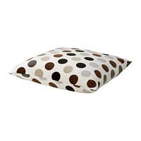 STOCKHOLM   Подушка, белый, коричневый точечный коричневый