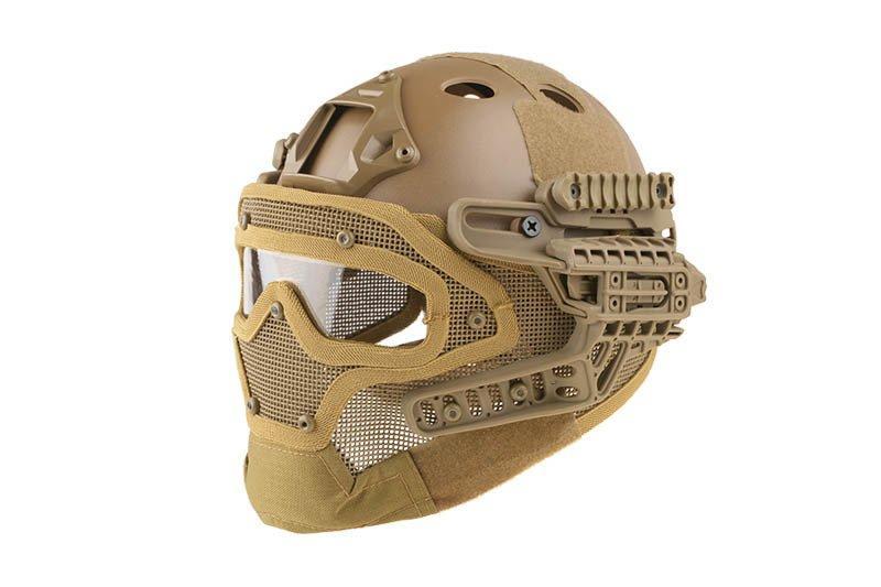 Реплика шлема FAST Gunner (PJ) - Tan [Ultimate Tactical] (для страйкбола)