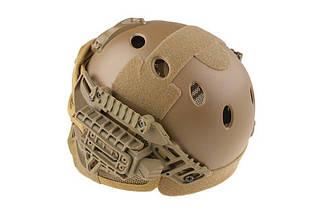 Реплика шлема FAST Gunner (PJ) - Tan [Ultimate Tactical] (для страйкбола), фото 2