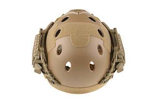 Реплика шлема FAST Gunner (PJ) - Tan [Ultimate Tactical] (для страйкбола), фото 3