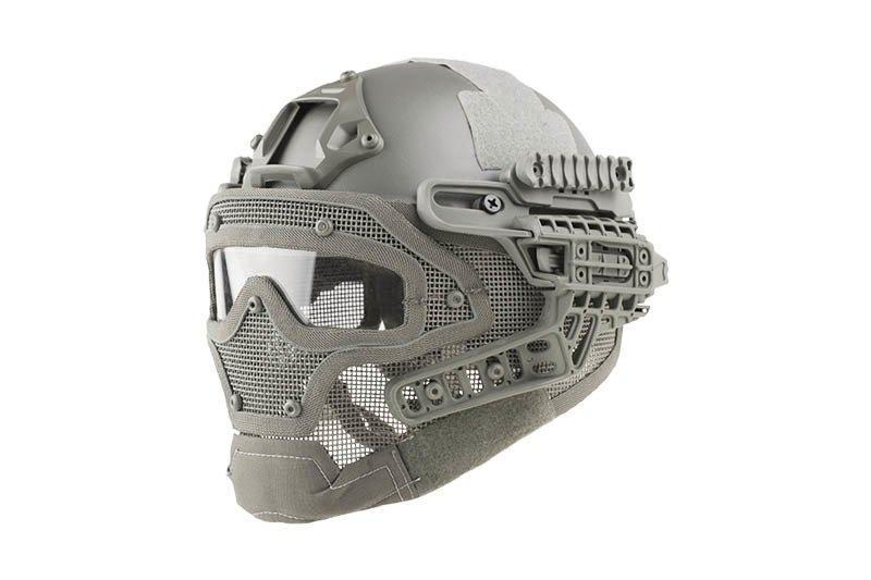 Реплика шлема FAST Gunner (MH) - Gray [Ultimate Tactical] (для страйкбола)