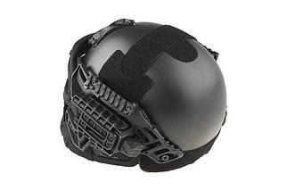 Реплика шлема FAST Gunner (MH) - black [Ultimate Tactical] (для страйкбола), фото 2