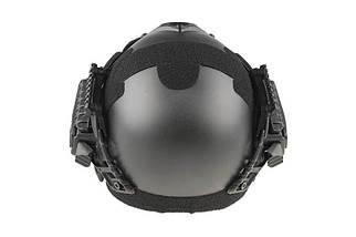 Реплика шлема FAST Gunner (MH) - black [Ultimate Tactical] (для страйкбола), фото 3
