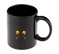Чашка хамелеон Смайлик